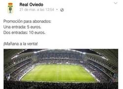 Enlace a El Oviedo vuelve a la carga con otro fail
