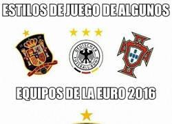 Enlace a Estilos de juego de algunos equipos de la Euro 2016
