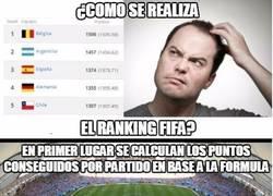 Enlace a Para que no haya más confusiones: ¿Cómo se realiza el ranking FIFA?