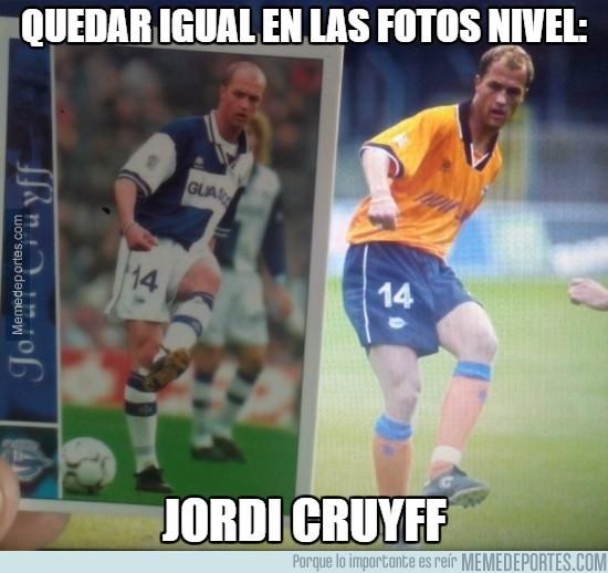 827895 - Jordi Cruyff lo clava en las fotos