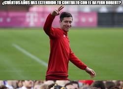 Enlace a ¿Cuántos años has extendido tu contrato con el Bayern, Robert?