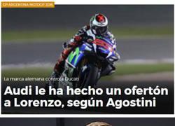 Enlace a Lorenzo a la F1