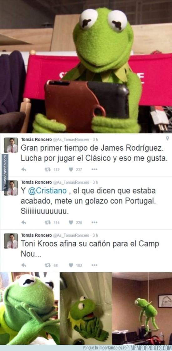 828191 - Madridistas tras leer estos tres tuits seguidos de Roncero