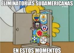Enlace a Así están de apretadas las eliminatorias sudamericanas