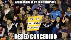 Enlace a El Valencia destituye a Gary Neville