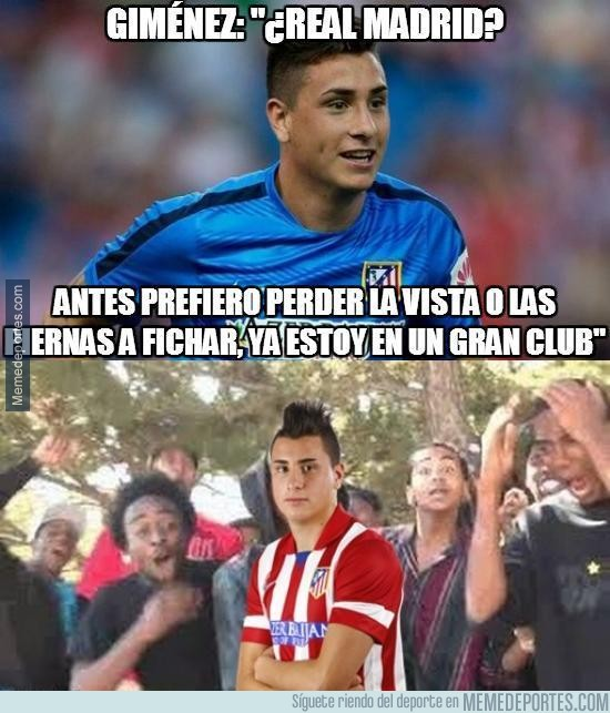 828858 - ¿Turn Down For What de Giménez al Real Madrid?