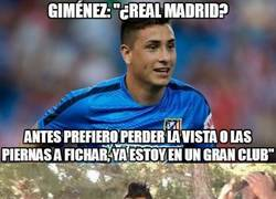 Enlace a ¿Turn Down For What de Giménez al Real Madrid?