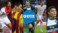 Enlace a QUIZ: ¿Conoces los ex-equipos de algunos futbolistas?