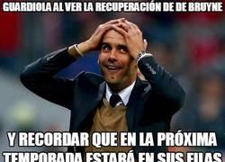 Enlace a Guardiola no puede estar más feliz