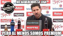 Enlace a El Atlético, equipo premium