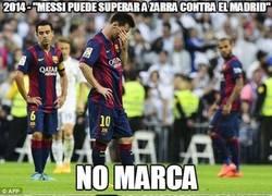 Enlace a ¿Pasará factura el gafe a Messi esta vez?