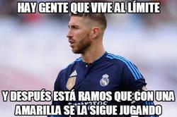 Enlace a Ramos vive al límite