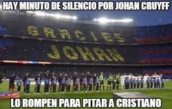 Enlace a Lamentable lo de algunos aficionados del Barça...