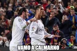 Enlace a Cristiano silencia al Camp Nou