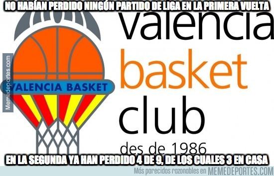 830992 - El bajón del Valencia Basket :(