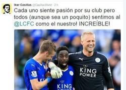 Enlace a Emotivas palabras de Casillas hacia el Leicester