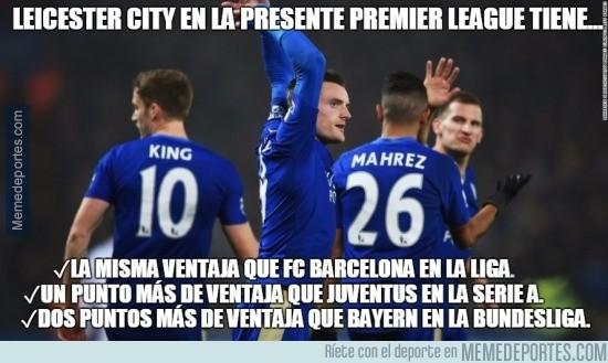 831212 - Leicester City en la presente Premier League tiene...
