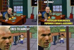 Enlace a Zidane se ha olvidado de James