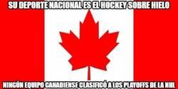 Enlace a Mala suerte para los equipos canadienses