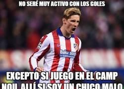 Enlace a Torres siempre se lo complica al Barça