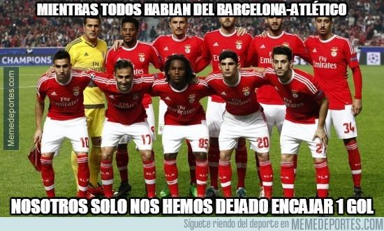 832379 - Mucho mérito del Benfica frente al Bayern