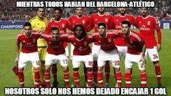 Enlace a Mucho mérito del Benfica frente al Bayern