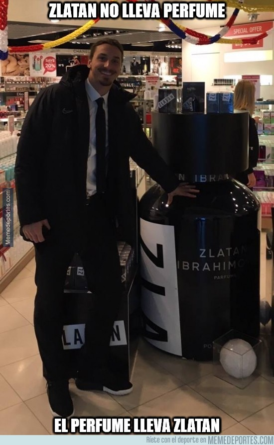 832583 - Zlatan no lleva perfume