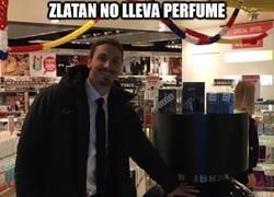 Enlace a Zlatan no lleva perfume