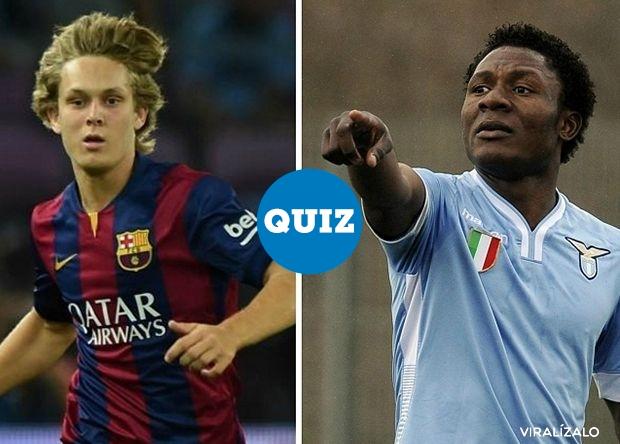 832605 - QUIZ: ¡Adivina! ¿Qué futbolista es mayor?
