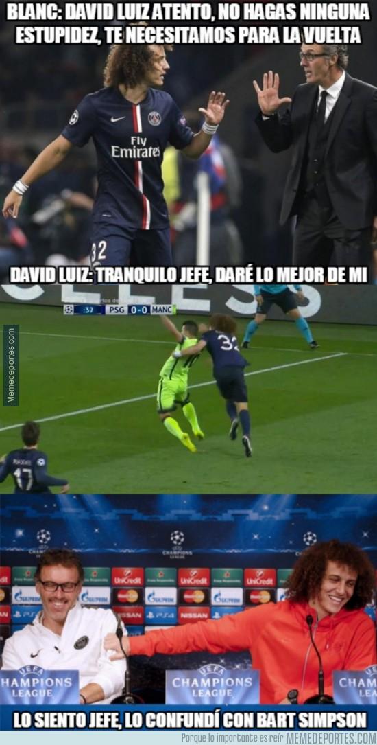 832697 - La razón de la amarilla de David Luiz tan tempranera