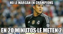 Enlace a Bad luck Keylor