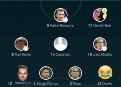 Enlace a La alineación del Real Madrid frente al Wolfsburgo