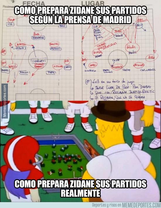 833521 - Cómo prepara Zidane sus partidos