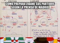 Enlace a Cómo prepara Zidane sus partidos