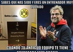 Enlace a Bonito detalle del Dortmund con Klopp