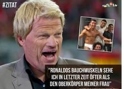 Enlace a La rajada de Oliver Kahn a Cristiano Ronaldo tras la derrota ante el Wolfsburgo