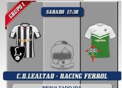 Enlace a Muy mal el entrenador del Racing de Ferrol
