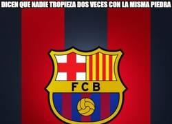 Enlace a Misión imposible lo del Barça en Anoeta