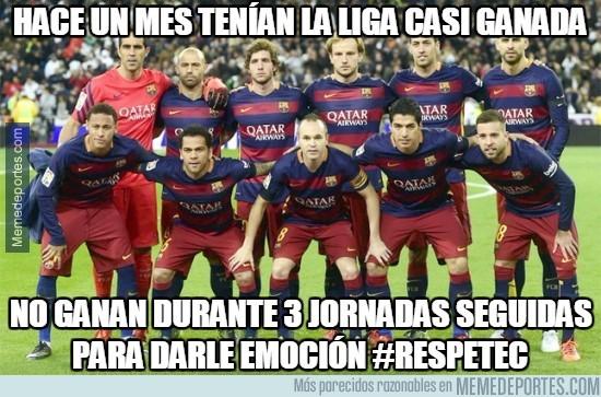 834997 - El Barça pone emoción a la Liga
