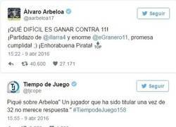 Enlace a Arbeloa vs Piqué