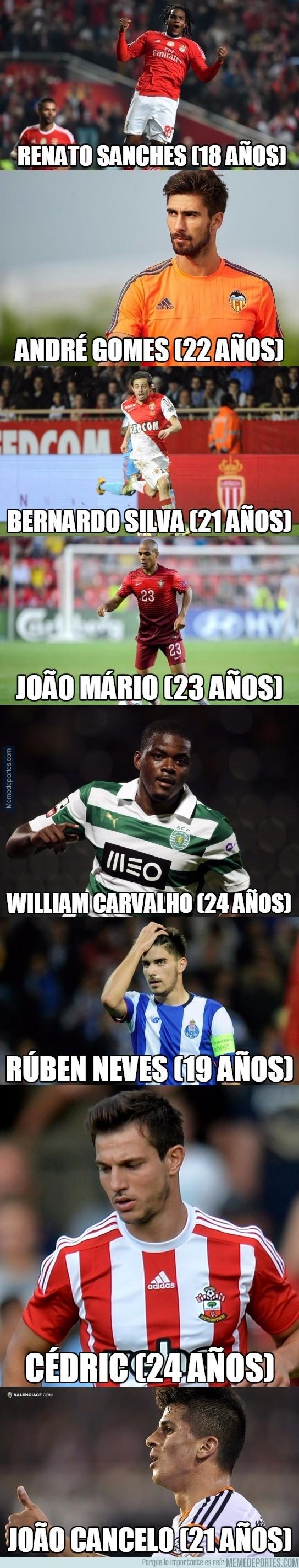 835239 - BRUTAL: Vaya futuro le espera a la Selección Portuguesa