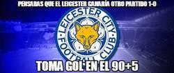 Enlace a Se terminó la curiosa racha del Leicester
