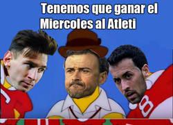 Enlace a Luis Enrique prepara su jugada maestra contra el Atleti en Champions
