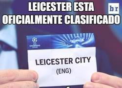 Enlace a Leicester... ¡¡¡Bienvenidos a la Champions!!!