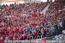 Enlace a Brutal la afición del Real Murcia