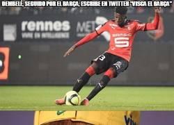 Enlace a Dembelé se ha ganado jugar en el Barça
