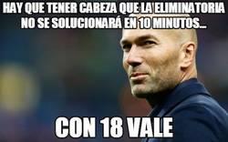 Enlace a Zidane lo tiene todo controlado