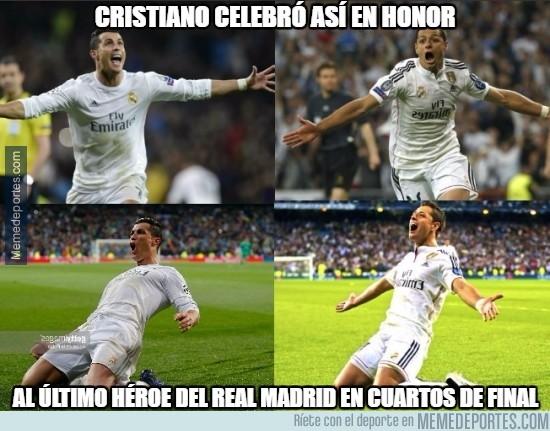 837139 - El espíritu de Chichadios estuvo presente en el Bernabéu