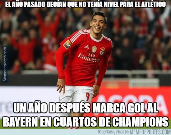 837238 - Jiménez callando bocas en Champions