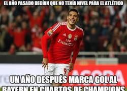 Enlace a Jiménez callando bocas en Champions